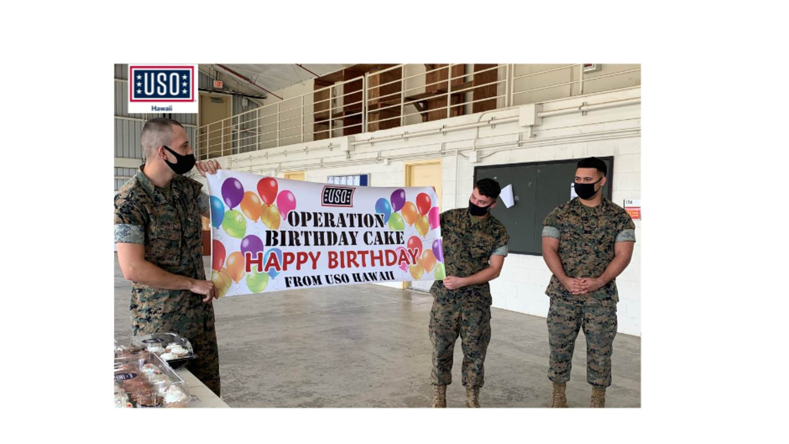 Operation Birthday Cake O USO Hawaii