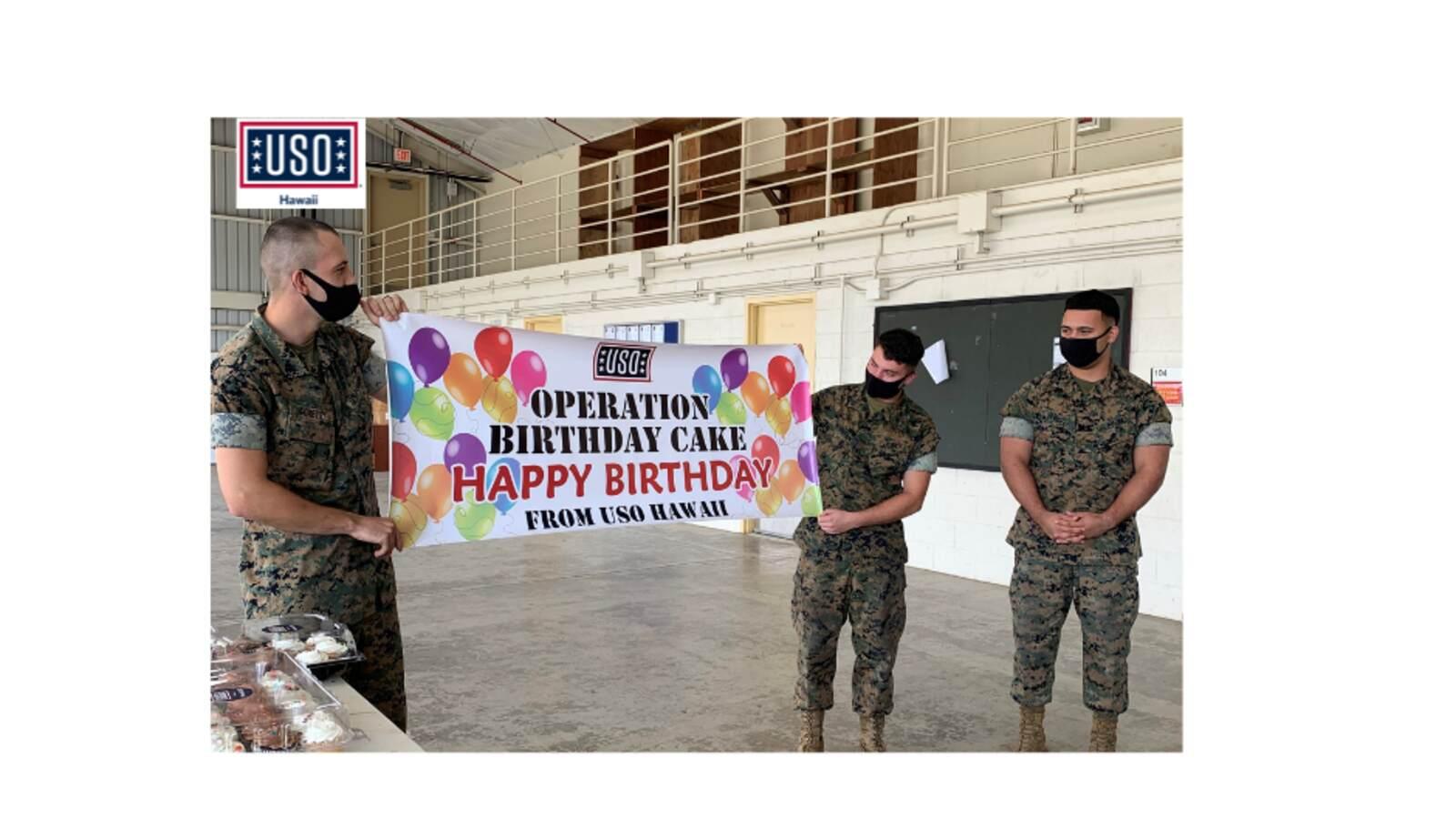 Operation Birthday Cake O USO Hawaii