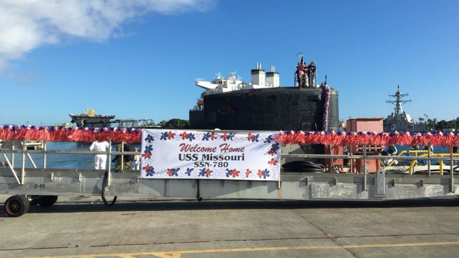 Pearl Harbor Welcomes Another USS Missouri • USO Hawaii